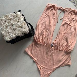 Tobi Tops - Blush pink body suit
